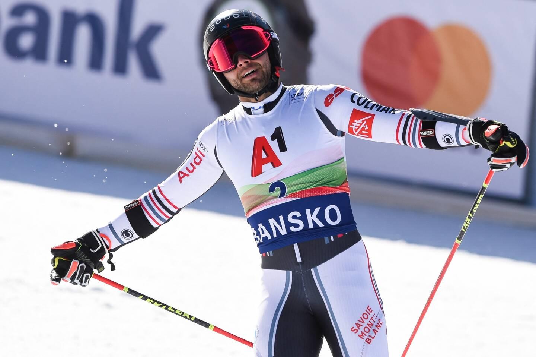 L'Isolien Mathieu Faivre reste en embuscade au huitième rang à 1''53 de Pinturault et 49 centièmes de la troisième place (Zubcic).