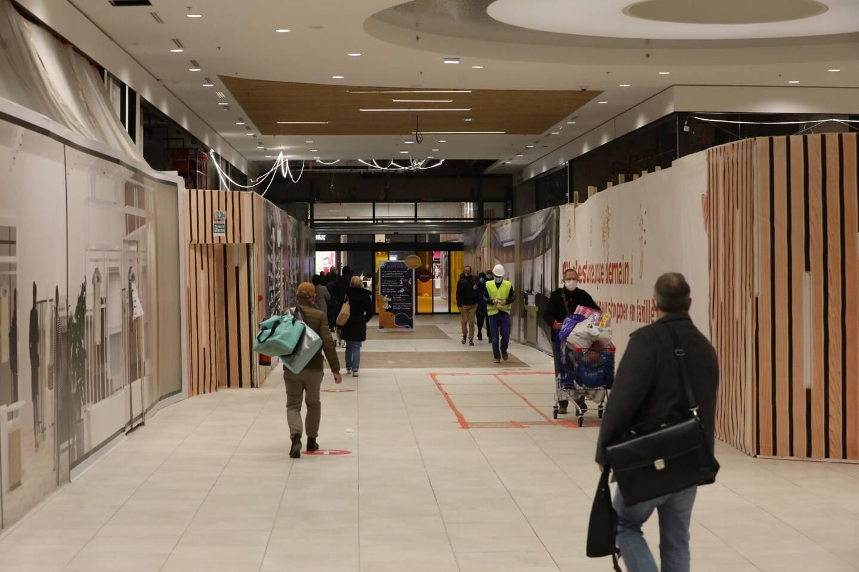 Les cellules, d'une surface moyenne de 200 m² sont en cours d'aménagement.