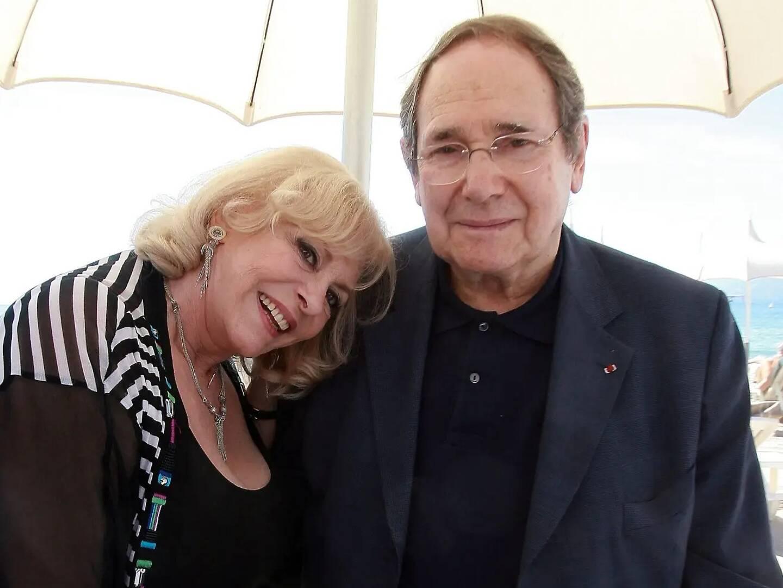 Retrouvailles de Michèle Mercier et Robert Hossein en 2010.