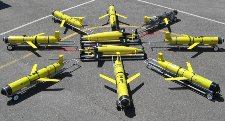 Les planeurs sous‐marins (gliders) sont des robots autonomes qui se présentent sous la forme de torpilles longues d'1,50m environ et pesant de 50 à 60 kg. Equipés de capteurs, ils sont utilisés pour des programmes d'observation de l'océan côtier et hauturier.