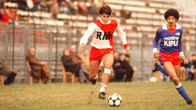 Manuel Amoros, ici sous le maillot de l'ASM, possède l'un des plus beaux palmarès du football français.
