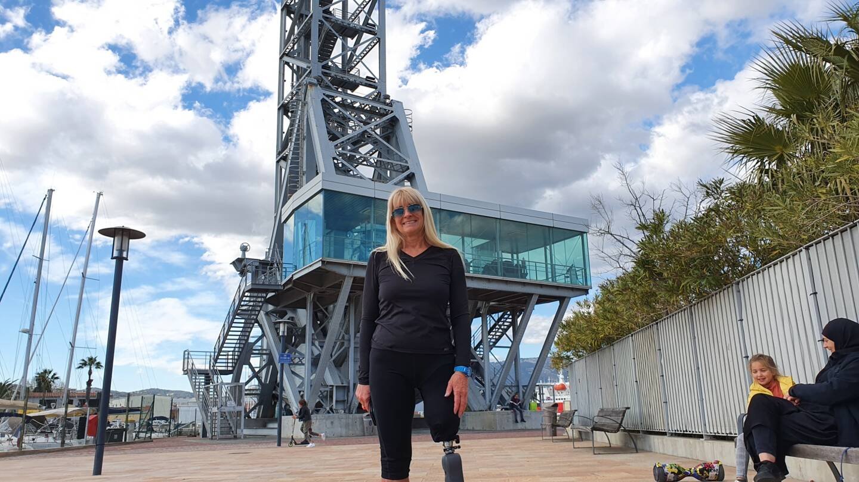 Valérie Hirschfield va monter dix fois le pont levant, le 19 mai prochain, pour récolter des fonds pour la fondation Gustave Roussy, qui aide la recherche sur les cancers pédiatriques.