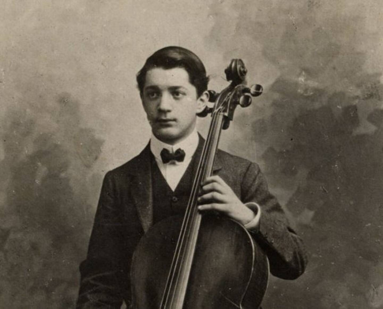 Roger Bricoux, le violoncelliste de Monaco.