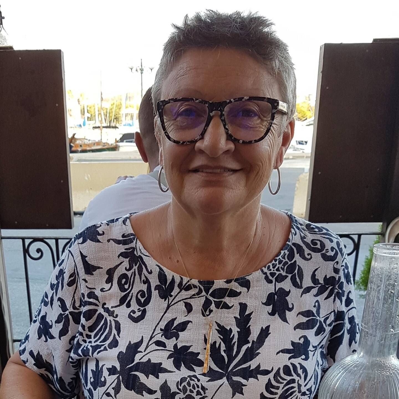 Andrée Patiès, présidente du comité d'intérêt local des Mouissèques.
