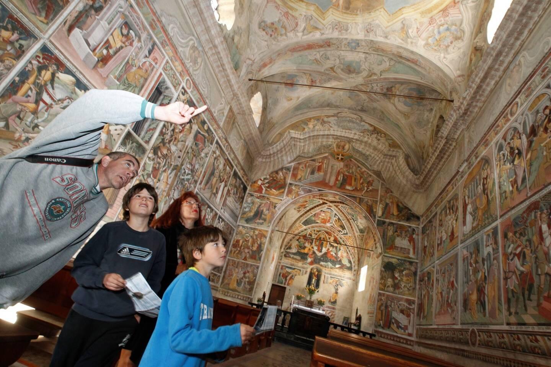 À La Brigue, l'église Notre-Dame des Fontaines fait partie des joyaux historiques de la Roya qui n'ont pas été touchés.