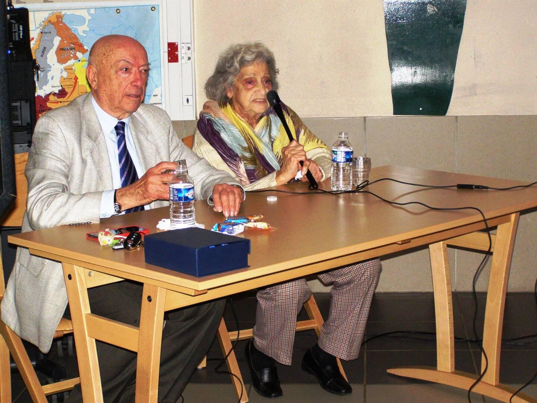 En 2017, avec Daniel Wancier, président du comité français pour Yad Vashem, elle avait remis le prix Charles-Gottlieb au collége de Roquebillière.