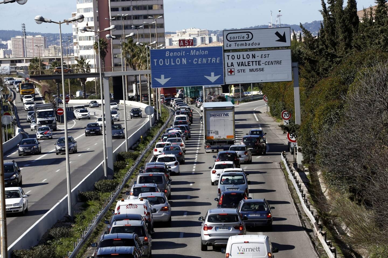 L'élargissement à deux fois trois voies de l'A57, à l'entrée est de Toulon, doit permettre de fluidifier le trafic. La fin des travaux est prévue pour 2025.
