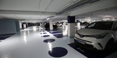 Voici à quoi ressemblent les parkings souterrains de Toulon après leurs travaux