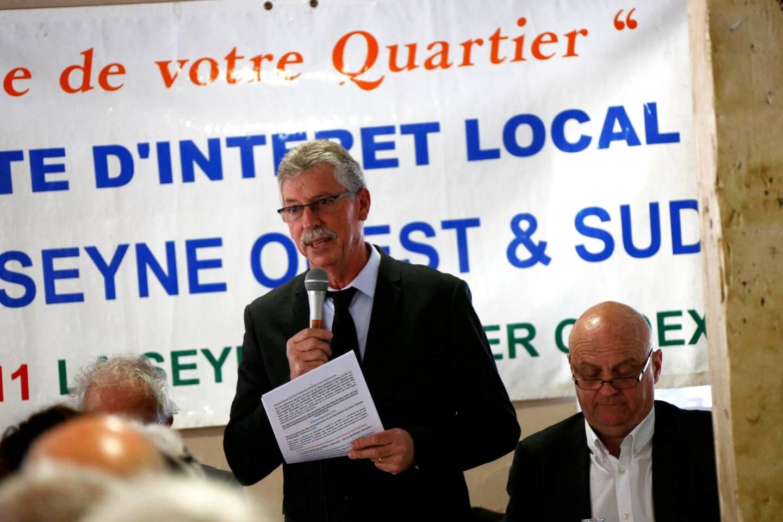 Jean-Claude Bardelli, président du Comité d'intérêt local La Seyne Ouest et Sud (CILLSOS).
