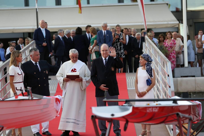 L'au revoir à un ami cher du prince Albert II: Jean-Marc Giraldi (à gauche).