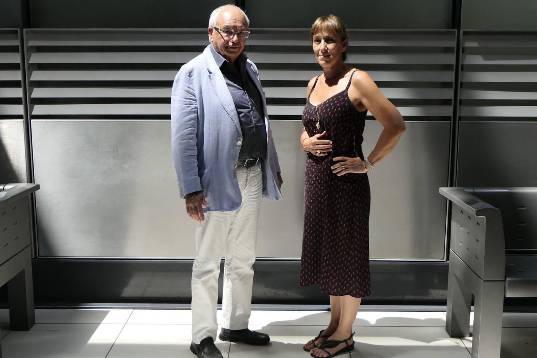 Mes Michel Cardix et Tina Colombani, les avocats du prêtre mis en examen.