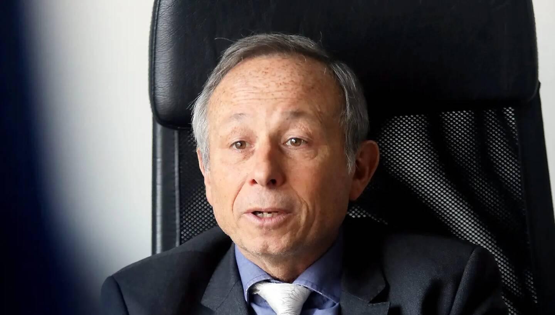 Christian Simon, président du syndicat de gestion de l'Eygoutier.