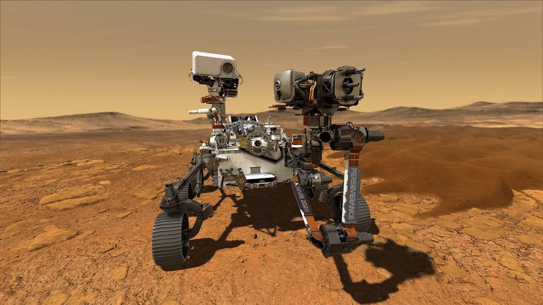 L'une des techniques d'analyse employées pour le tableau figure dans la panoplie du rover Perseverance, envoyé par la Nasa sur Mars.
