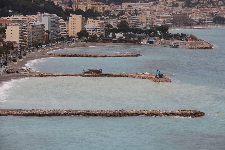 L'association Aspona veut mettre fin au modèle des plages artificielles comme ici à Roquebrune-Cap-Martin