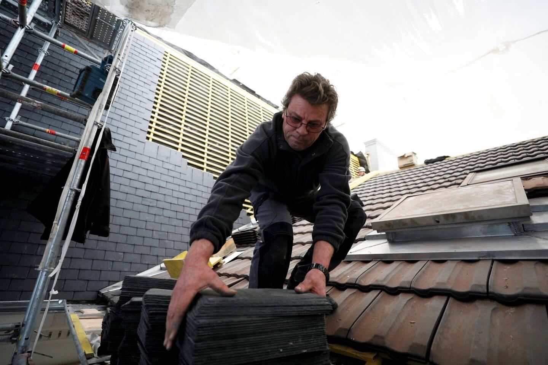 """""""Les ardoises présentes sur certaines parties de la toiture ont été remplacées à l'identique."""""""