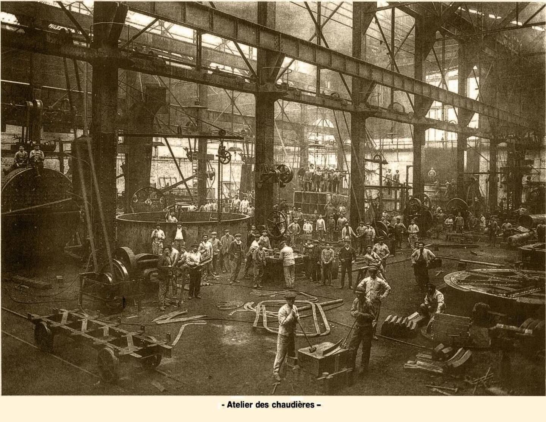 C'est en janvier 1907 que démarre le chantier de la mise en place des piliers de l'atelier des turbines, non loin de l'emplacement supposé d'une ancienne chapelle de pêcheurs.