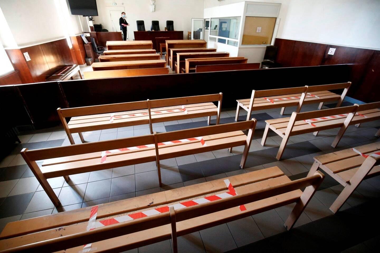Une salle d'audience du tribunal correctionnel de Toulon