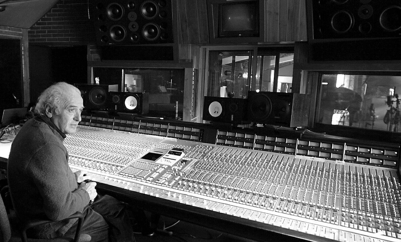 L'ingénieur du son Patrice Quef à Miraval.