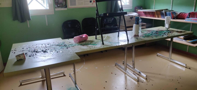 L'école de Bras a été saccagée pendant le week-end.
