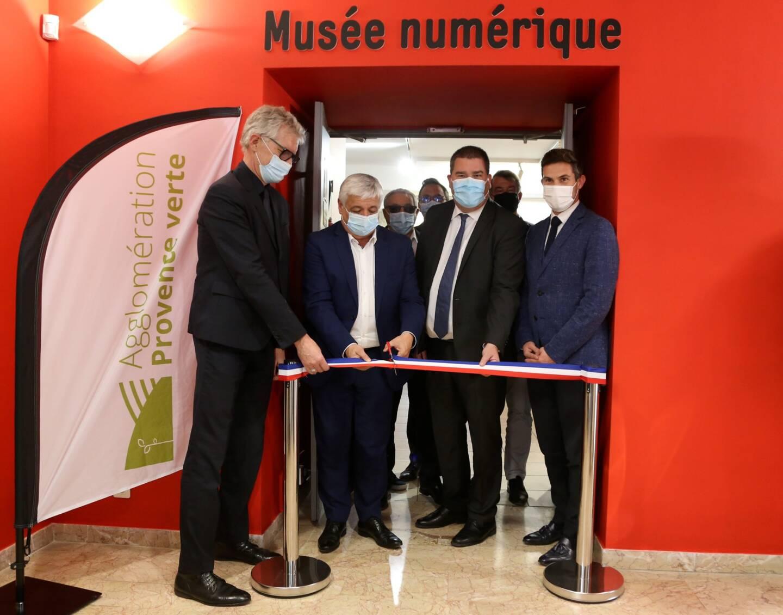 Le musée numérique a déployé ses outils dans plus de cent villes en France mais aussi dans le monde entier. Il se déploie aujourd'hui en Provence verte.