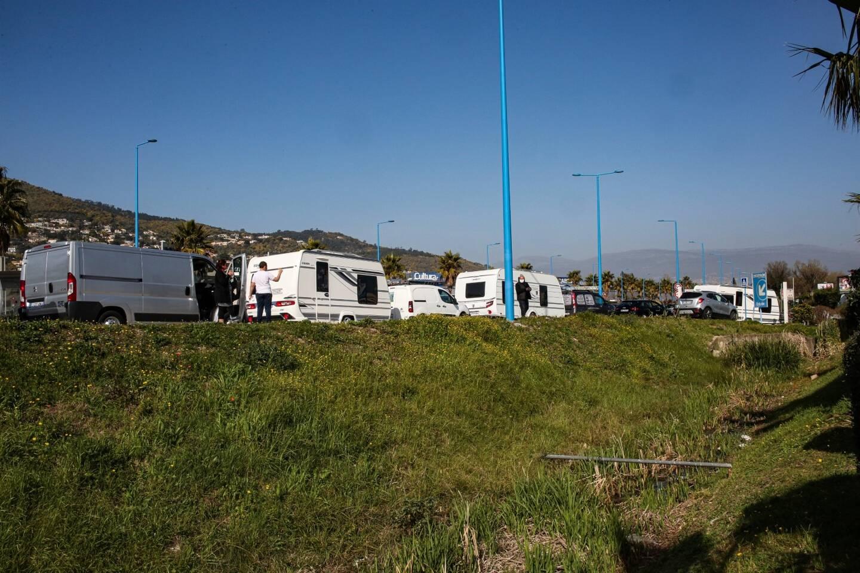 L'arrivée des gens du voyage a provoqué des bouchons zone de la Canardière vendredi matin.