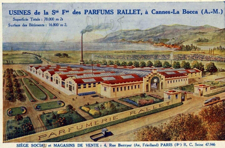 Si elles n'ont pris, finalement, leurs quartiers que durant huit ans dans la cité des festivals (1917-1925), les usines Rallet ont possiblement été le lieu de confection du mythique parfum.