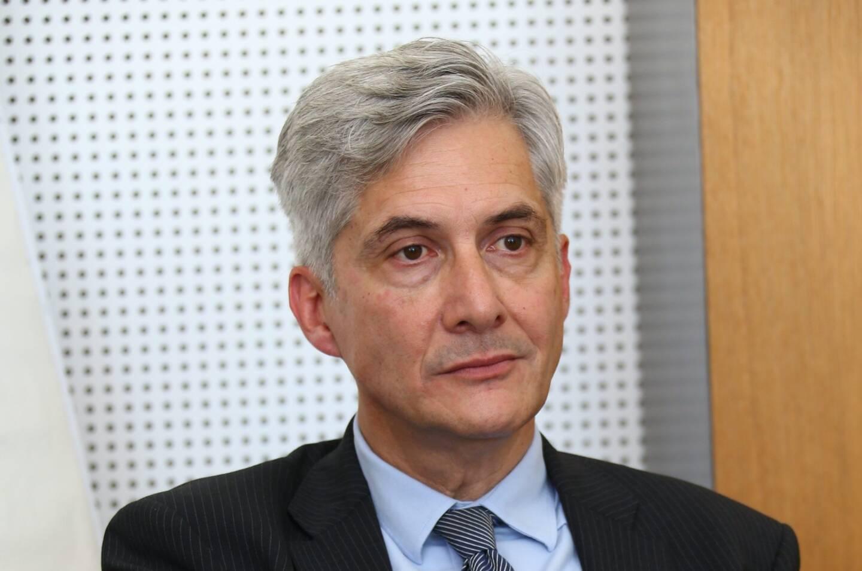 Yves Servant, directeur de l'hôpital Simone-Veil.