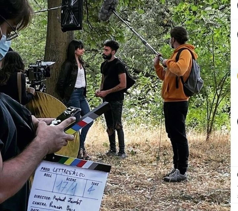 En plein tournage. Pour se faire la main, Naïm a tourné dans beaucoup de films amateurs.