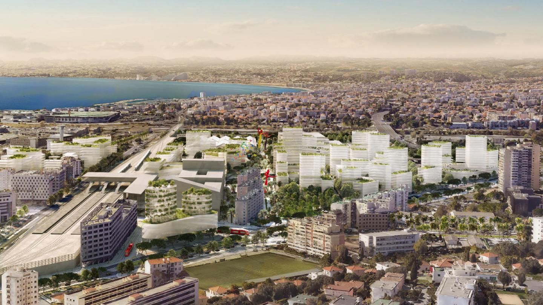 A Nice, l'architecte François Leclercq imagine un quartier plus vert que son prédécesseur au Grand-Arénas