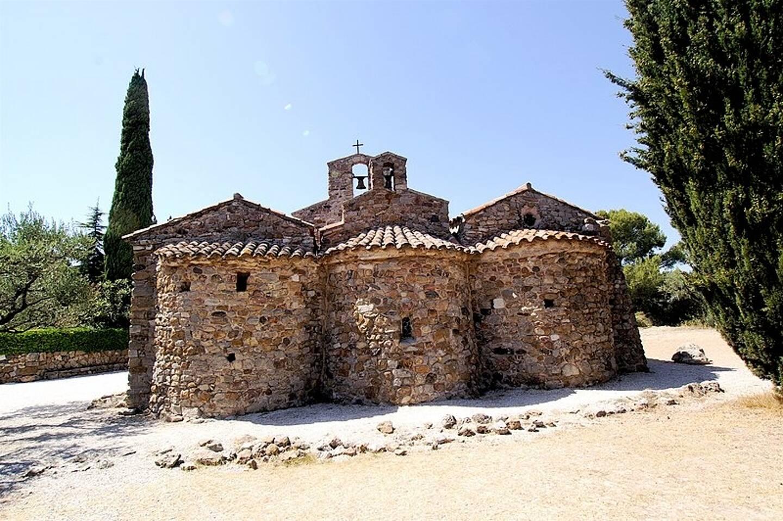 La chapelle Notre-Dame de Pépiole à Six-Fours.