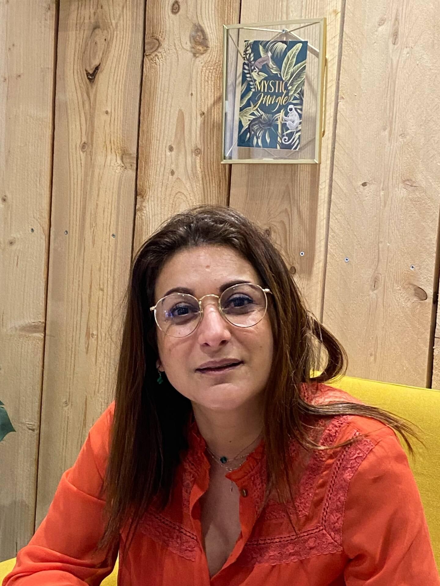 Nadia Jeddi, commerçante.