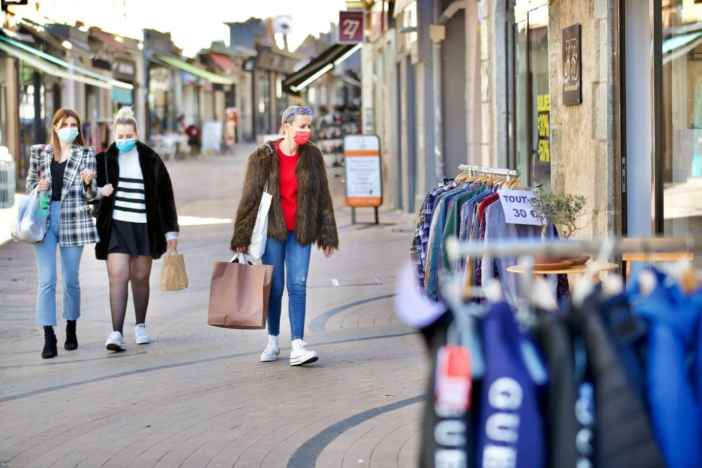 Des soldes frileux mais pas si malheureux pour les commerçants du centre-ville.