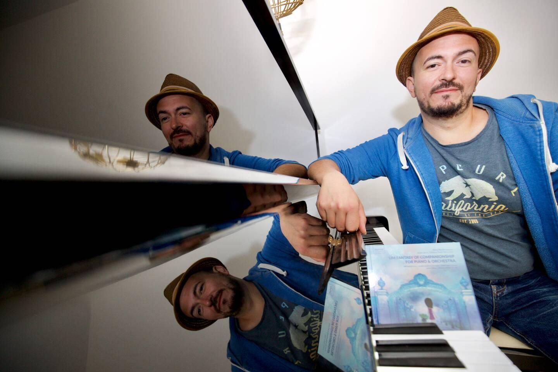 Mathieu Eymard retournera aux studios Abbey Road en novembre afin d'enregistrer le deuxième opus de Lim Fantasy