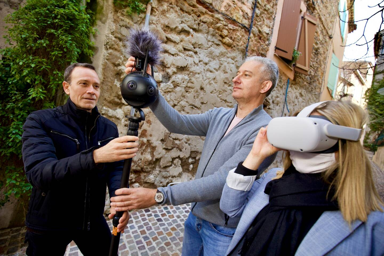 Les vidéastes anticipent une concurrence touristique entre les villages du Pays de Fayence.