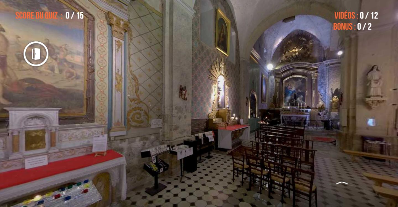 Une visite virtuelle pour magnifier le patrimoine local.
