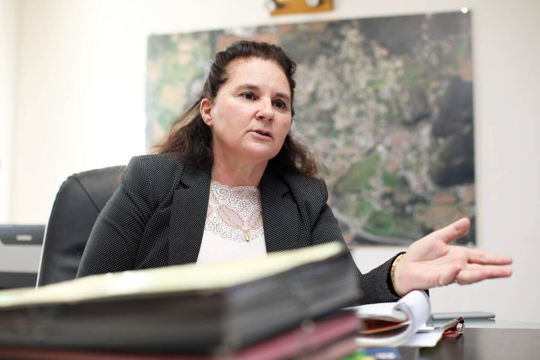 Nathalie Gonzalès, maire des Arcs.