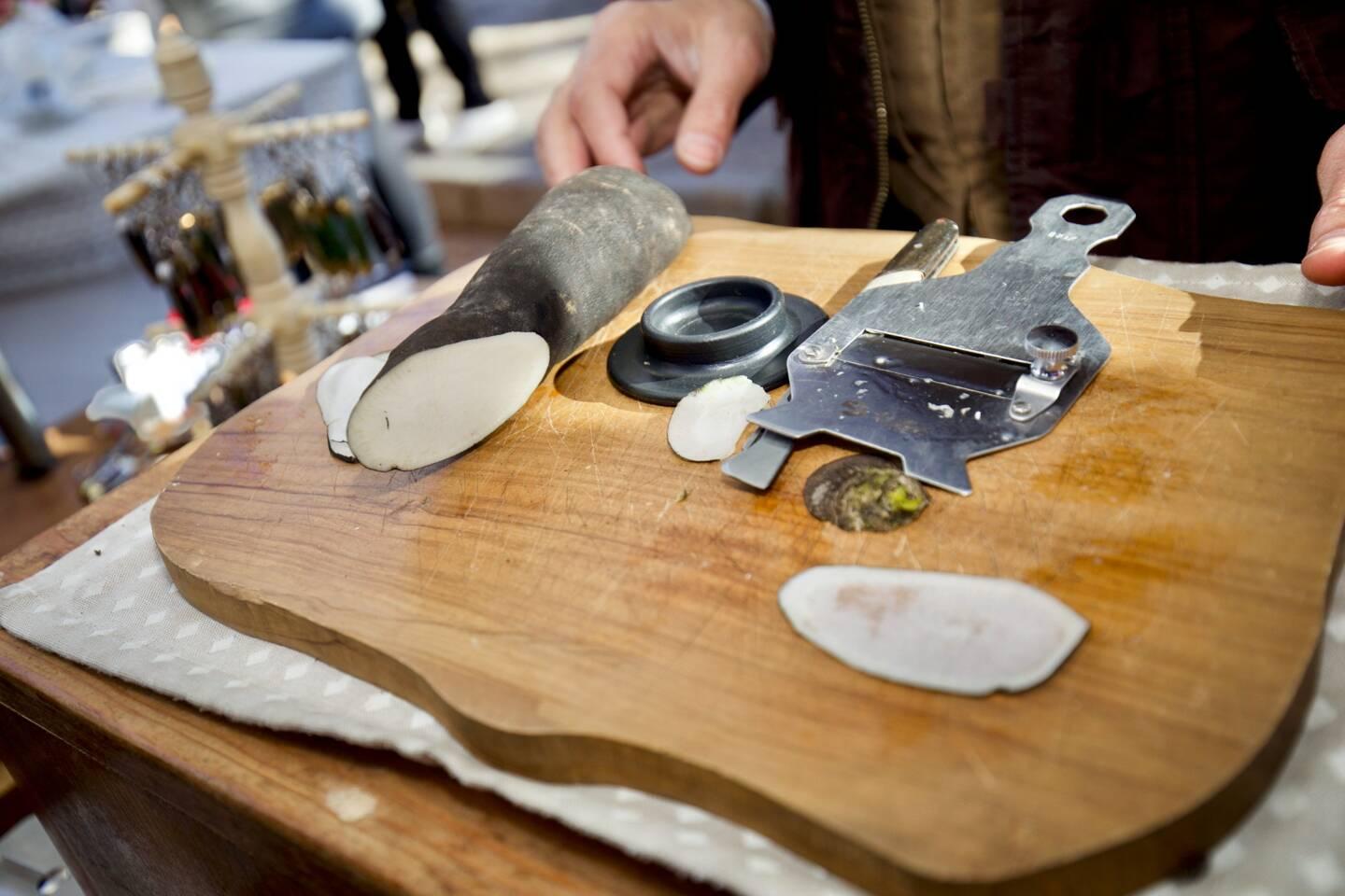 La mandoline.