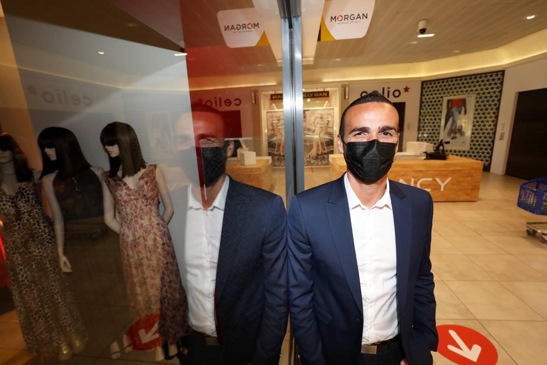 """Anthony Di Folco, le directeur du Centre commercial de Trans, l'affirme: """"Nous sommes prêts à accueillir les clients!"""""""