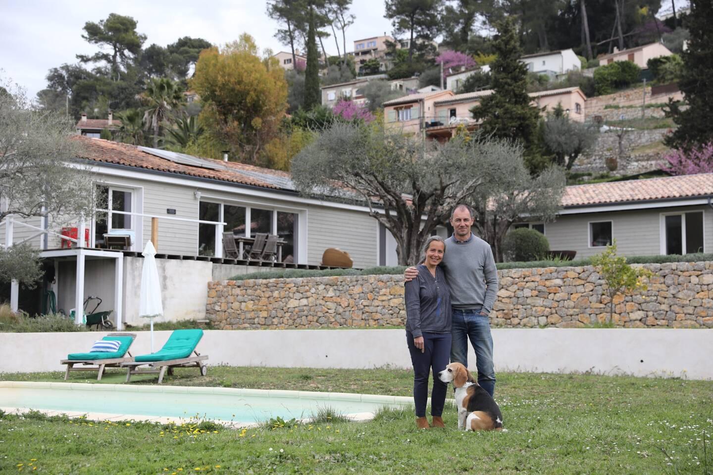 Béatrice et François ont ouvert leur chambre d'hôtes en janvier, en pleine crise Covid.