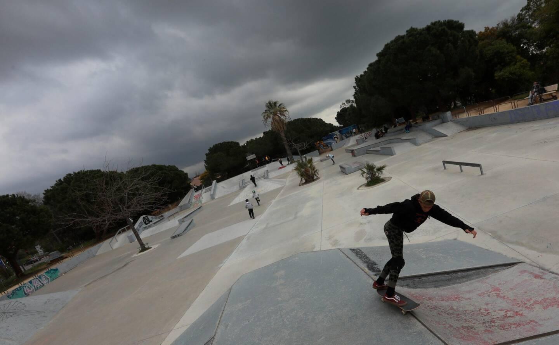 Le skatepark devrait subir des travaux de rénovation dans les mois à venir.