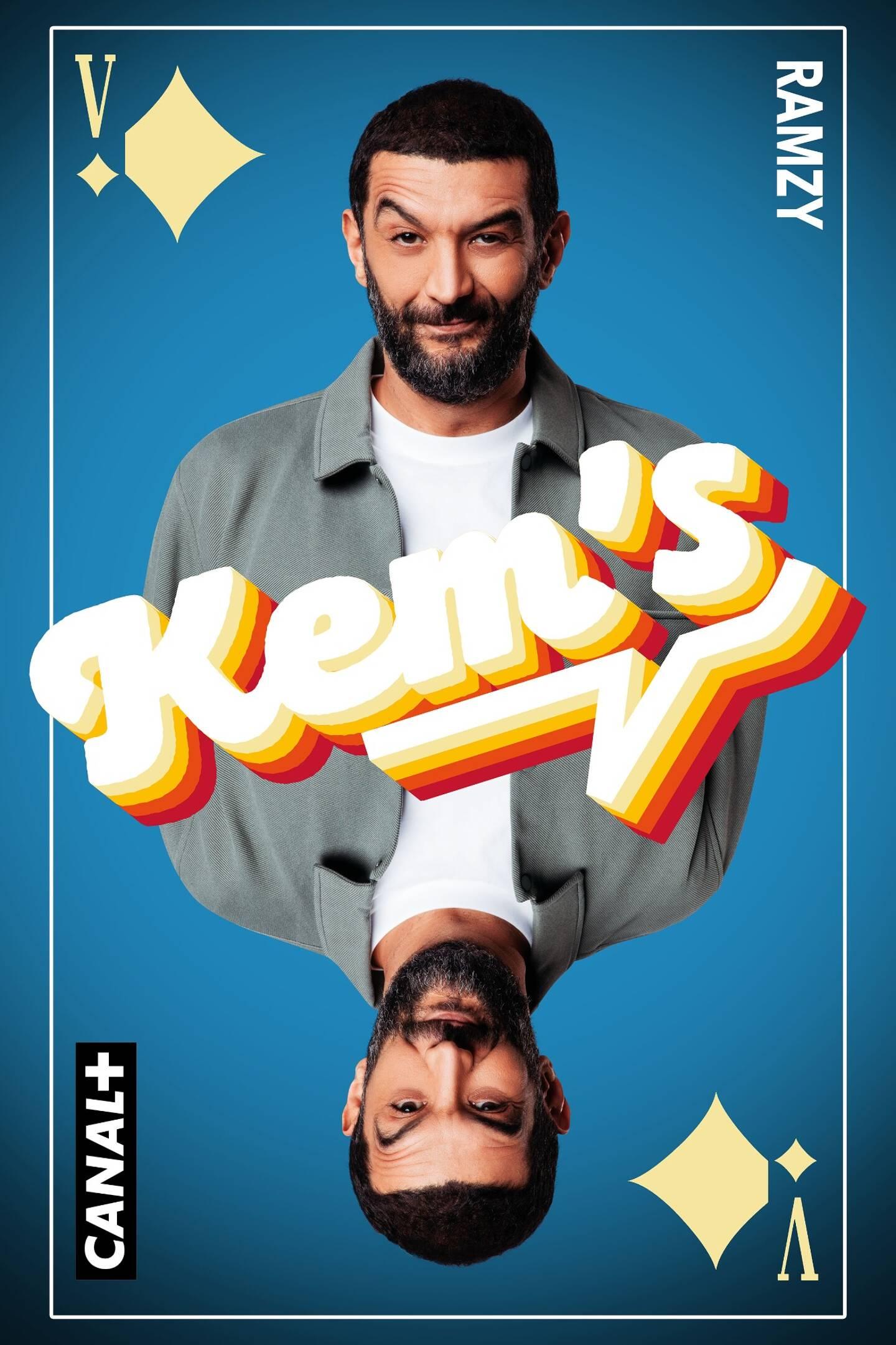 Ramzy reçoit sur le plateau du Kem's  du lundi au jeudi à 19h55 sur Canal + en clair