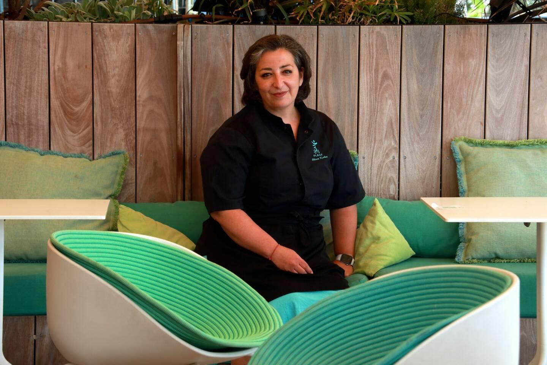 Olivia Kakou, cheffe pâtissière du 3.14, spécialiste des desserts sans gluten.