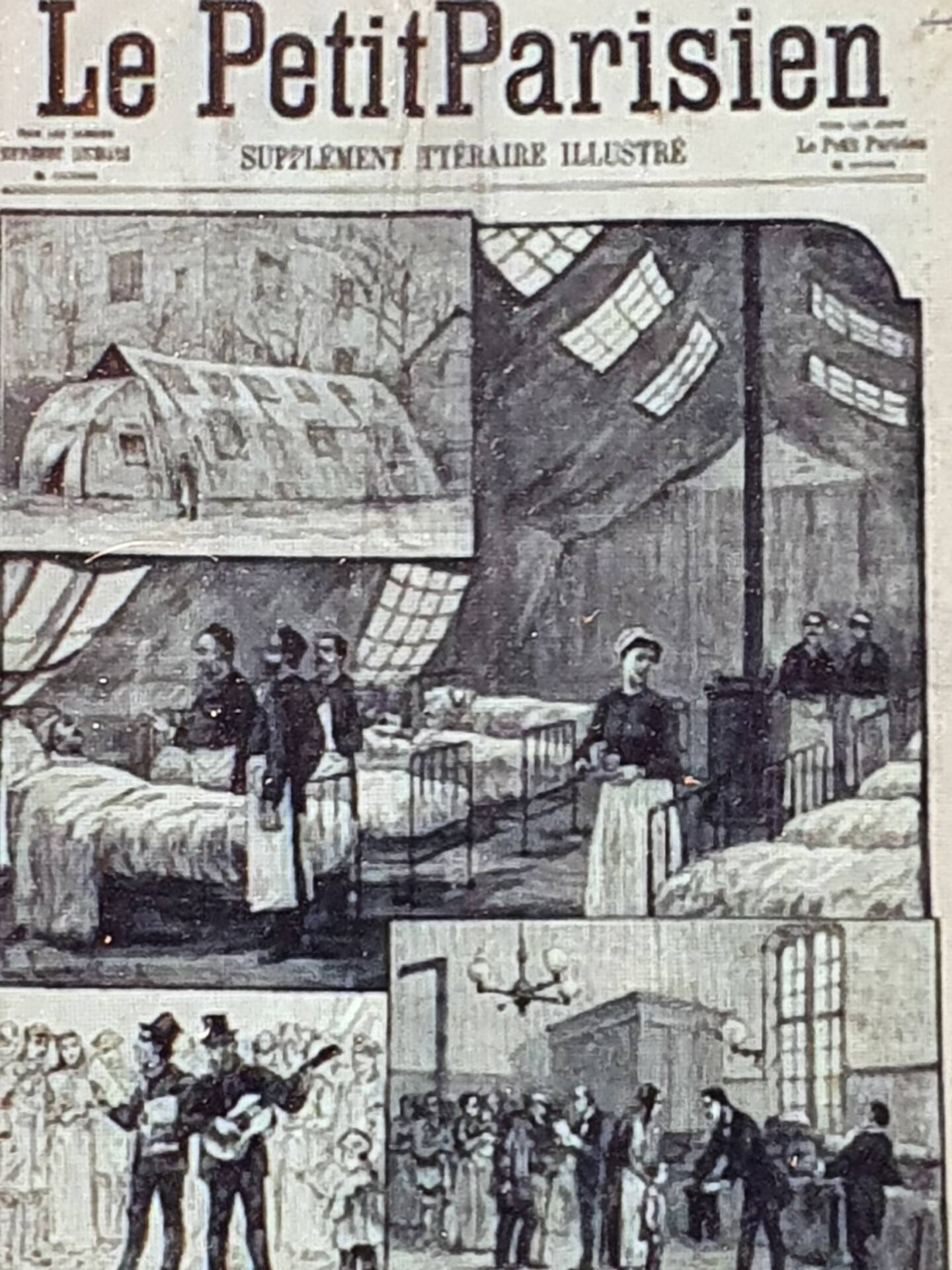 "La ""grippe russe"" dans la prese nationale en 1889."