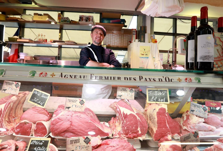 """Chez Michel Baussy, ce sont""""douze à quinze références de viandes"""" qui ont sont proposées."""