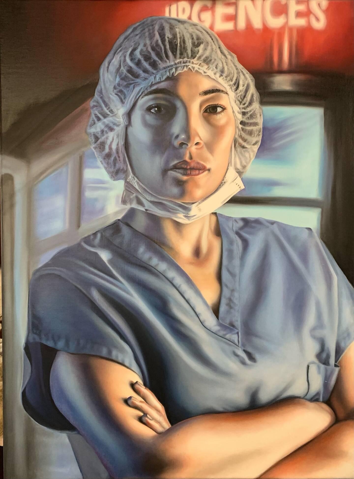 Des portraits qui reflètent la réalité et pourraient être exposés à l'hôpital Sainte-Musse