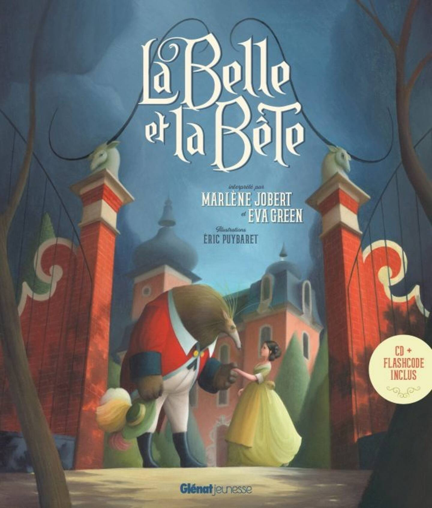 La Belle et la Bête par Marlène Jobert & Eva Green
