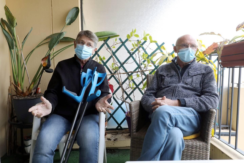 Lionnelle et Jean-Claude Colin sont soulagés de bénéficier de ce service, qui leur vient en aide pour accompagner au mieux leur maman hospitalisée à son domicile.