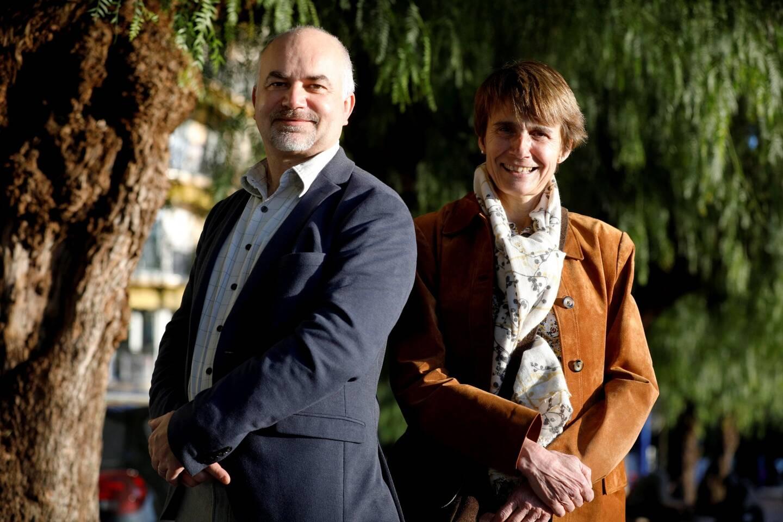 Philippe Briand et Frédérique Lorenzi.