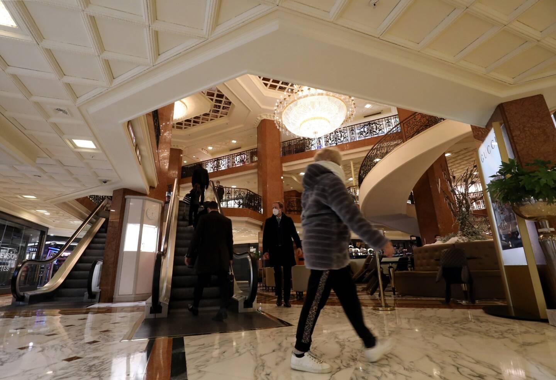 Les trois niveaux de boutiques et restaurants à Monte-Carlo ont enregistré des mois de novembre et décembre 2020 meilleurs économiquement que l'année précédente.