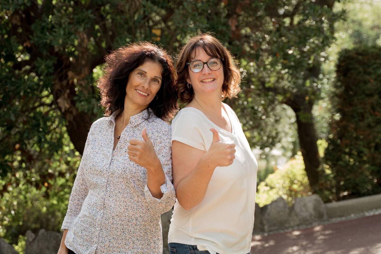Patricia Cappelli et Lorène Ilacqua, soignantes au service pédiatrie du CHPG se lanceront en 2022 dans cette aventure sportive